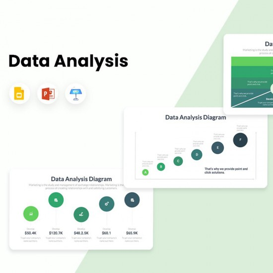 Data Analysis Diagrams Infographics