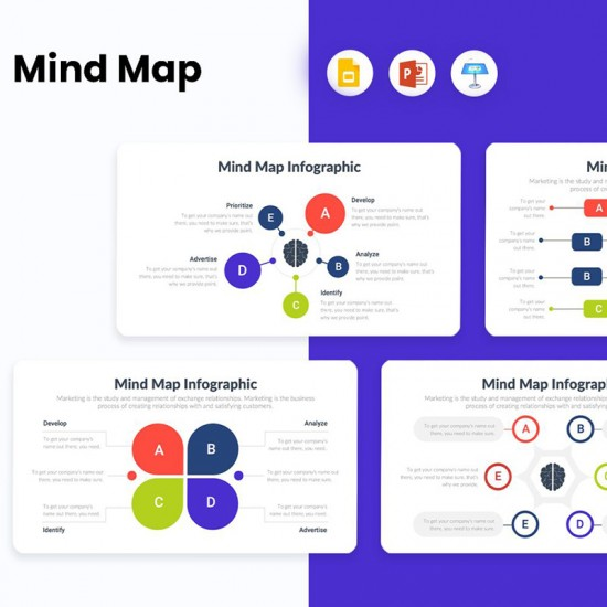 Mindmap Diagrams Infographics