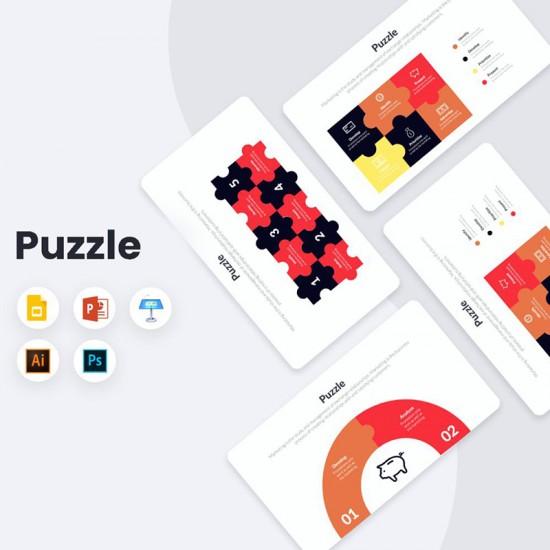 Puzzle Infographics