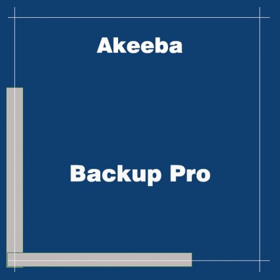 Akeeba Backup Pro Joomla Extension