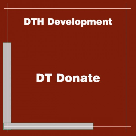 DT Donate Joomla Extension
