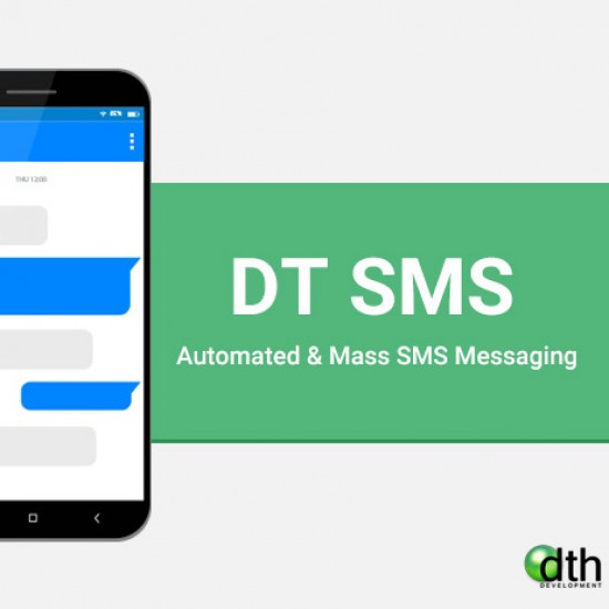 DT SMS Joomla Extension