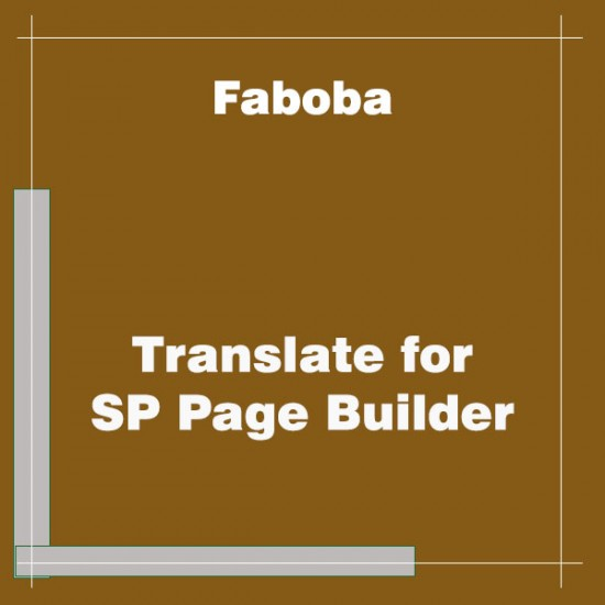 Faboba Translate for SP Page Builder Joomla Extension