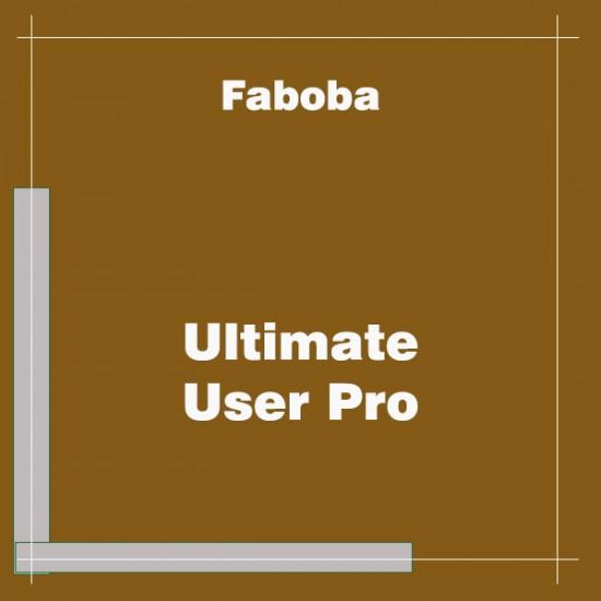 Ultimate User Pro Joomla Extension