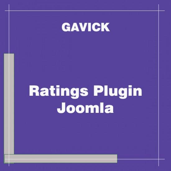 Ratings Plugin Joomla
