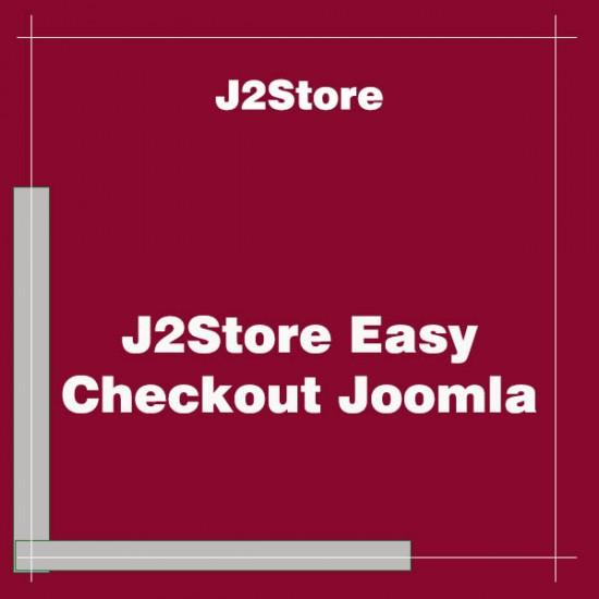 J2Store Easy Checkout Joomla Extension