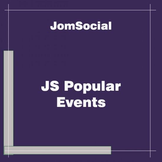 JS Popular Events