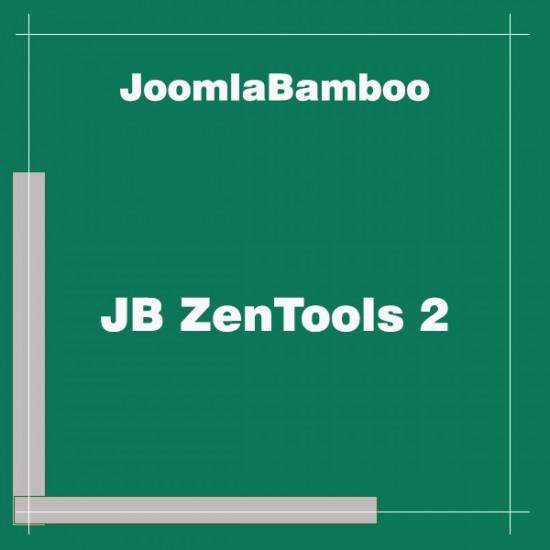 JB ZenTools 2 Joomla Extension