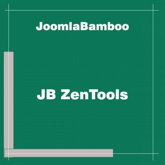 JB ZenTools Joomla Extension