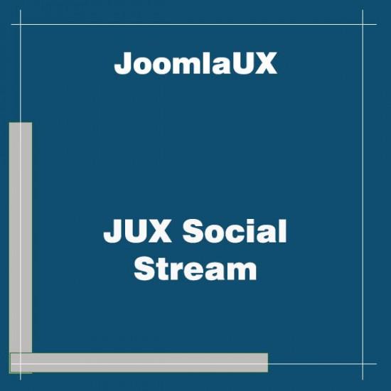 JUX Social Stream Joomla Extension