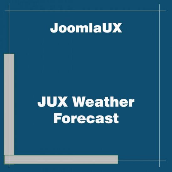 JUX Weather Forecast Joomla Extension