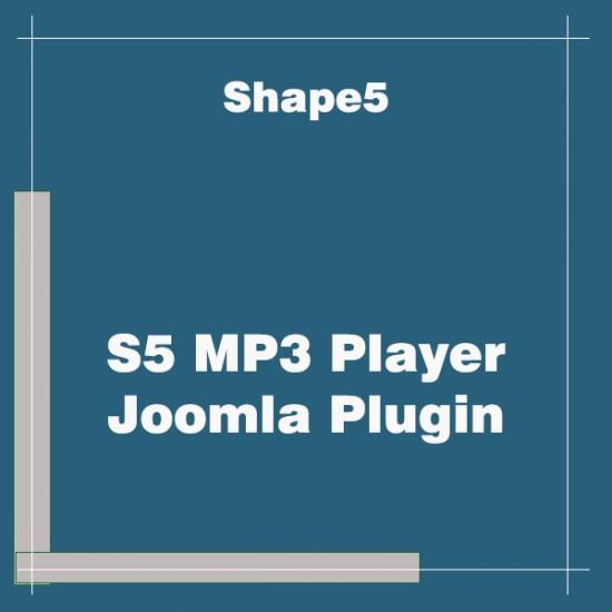 S5 MP3 Player Plugin Joomla
