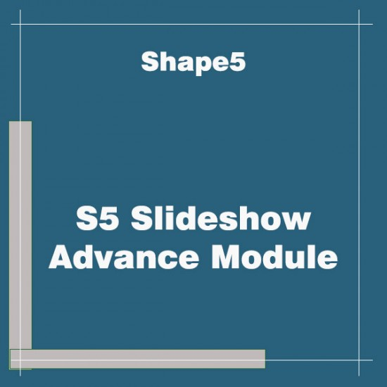 S5 Slideshow Advance Module Joomla