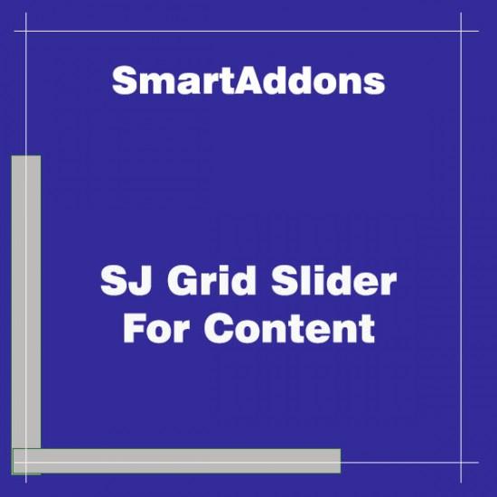 SJ Grid Slider For Content Joomla Extension