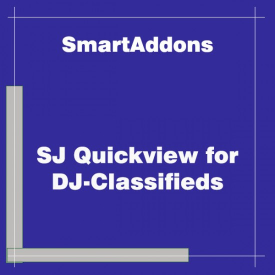 SJ Quickview for DJ-Classifieds Joomla Extension