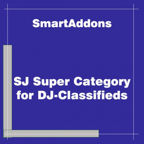 SJ Super Category for DJ Classifieds Joomla Extension