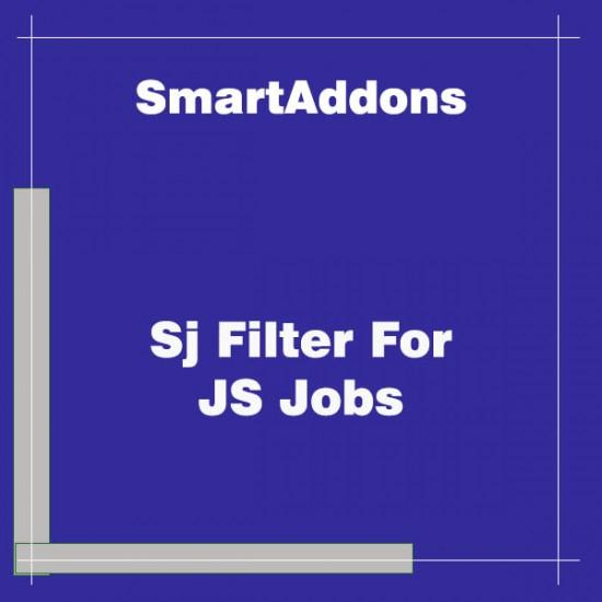 Sj Filter For JS Jobs Joomla Extension