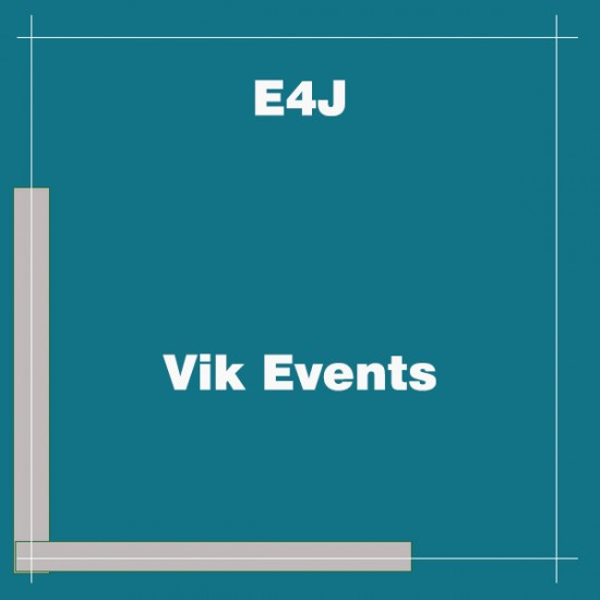 Vik Events Joomla Extension