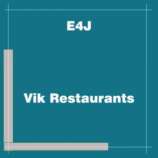 Vik Restaurants Joomla Extension