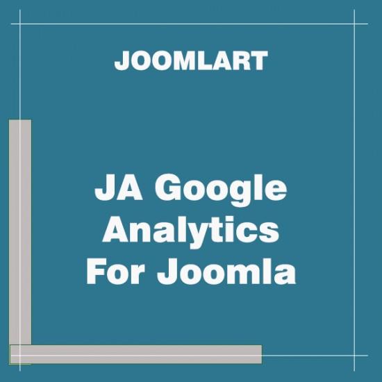 JA Google Analytics For Joomla