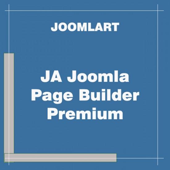 JA Joomla Page Builder Premium