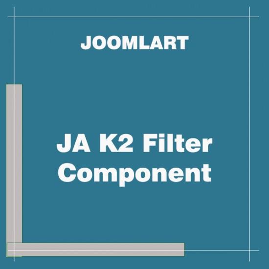 JA K2 Filter Component