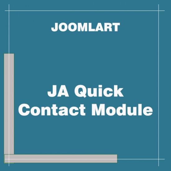JA Quick Contact Module