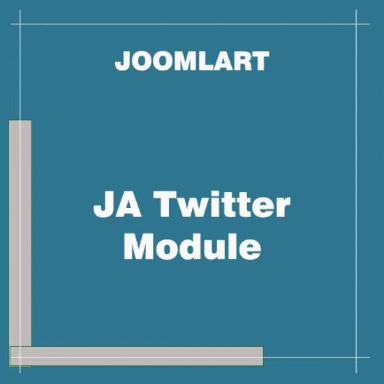 JA Twitter Module