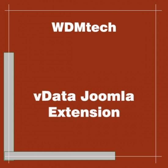 vData Joomla Extension