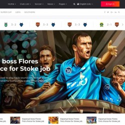 Calcio Joomla Template