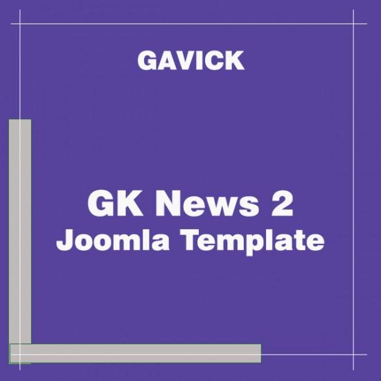 GK News2 Joomla Template