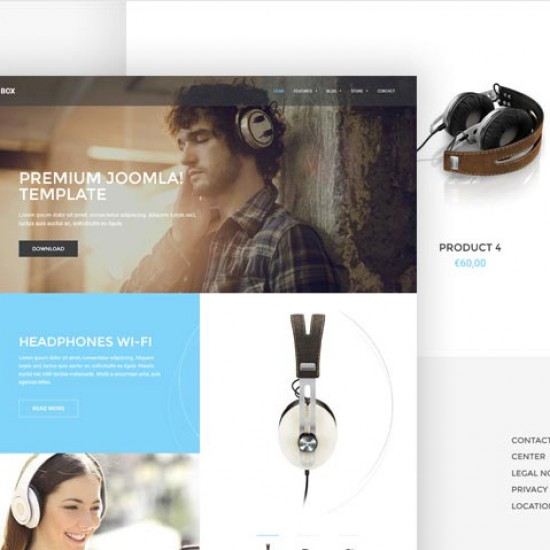 GK Box Joomla Template