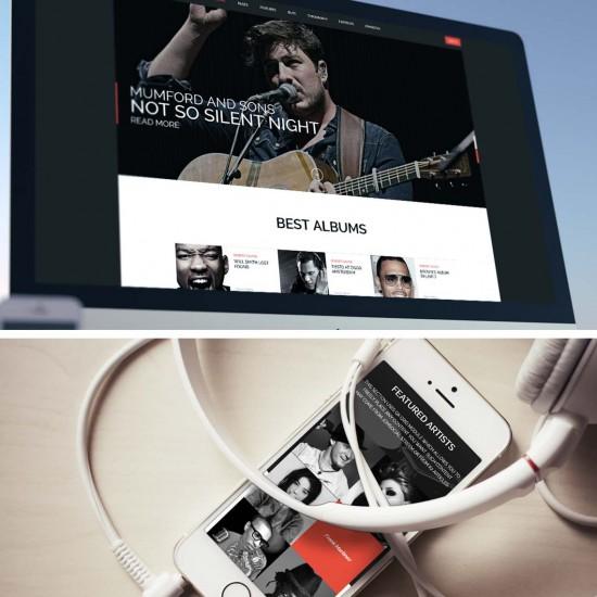 GK Musicstate Joomla Template