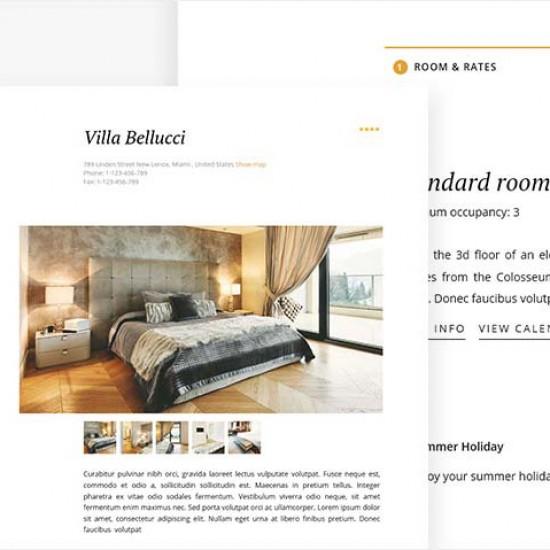 GK Hotel Joomla Template