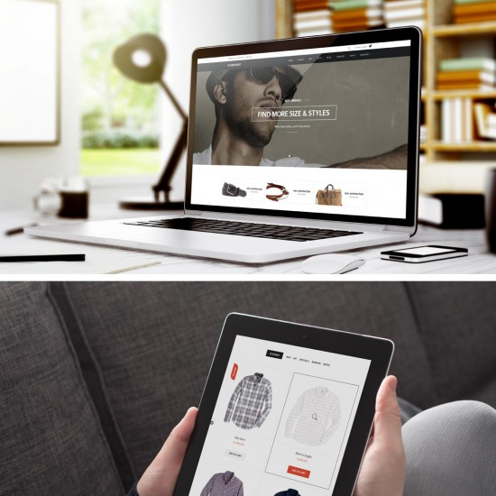 GK Storefront Joomla Template