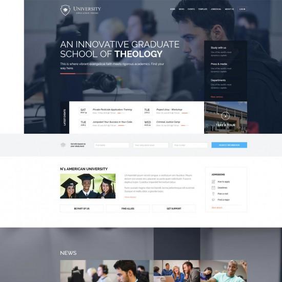 GK University Joomla Template
