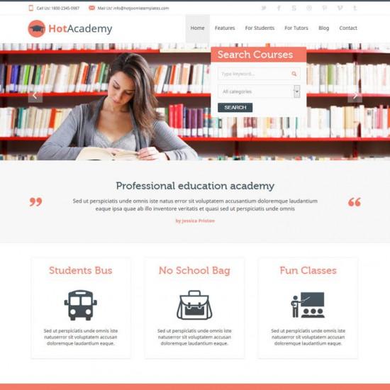 HotThemes Academy Joomla Template