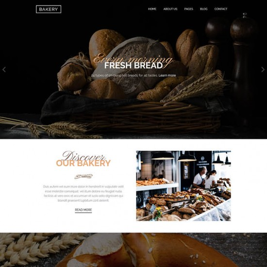 HotThemes Bakery Joomla Template