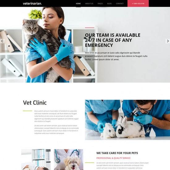 HotThemes Hot Veterinary Joomla Template