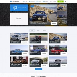 JM Car Classifieds Joomla Template