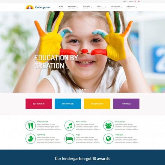 JM Education Joomla Template