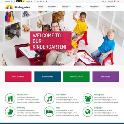 JM Education Joomla Template