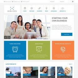 JM Services Joomla Template