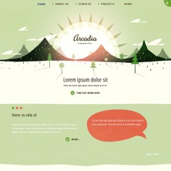 JB Arcadia Joomla Template