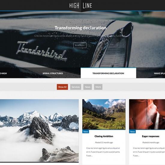JB Highline2 Joomla Template