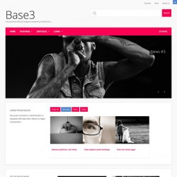 JB Base 3 Joomla Template