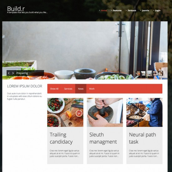 JB Buildr Joomla Template