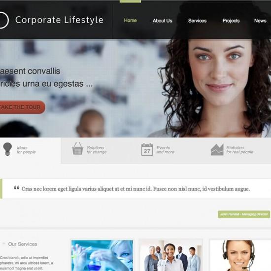 JB Corporate Joomla Template