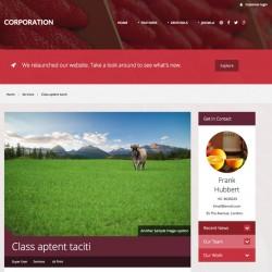 JB Corporation Joomla Template