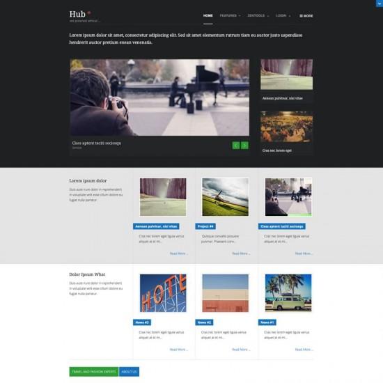 JB Hub2 Joomla Template
